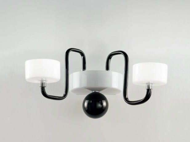 Murano glass wall lamp GUGGENHEIM | Wall lamp by PANZERI