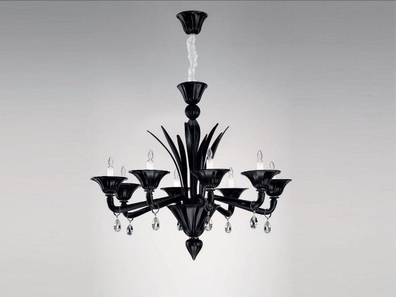 Murano glass chandelier HERMITAGE | Chandelier by PANZERI