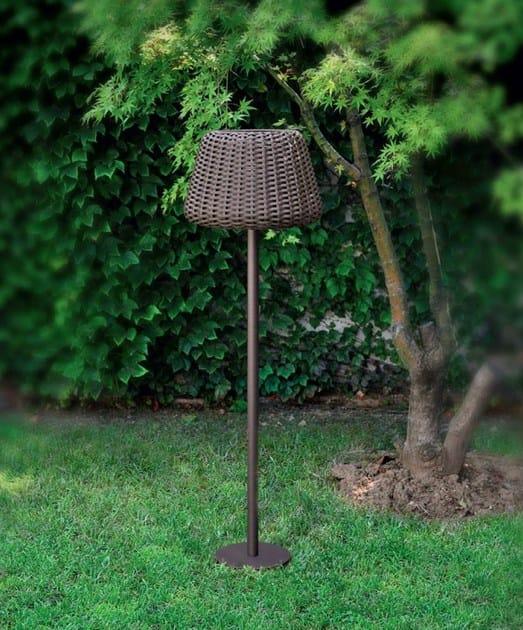 Rattan Floor Lamp RALPH | Rattan Floor Lamp By PANZERI