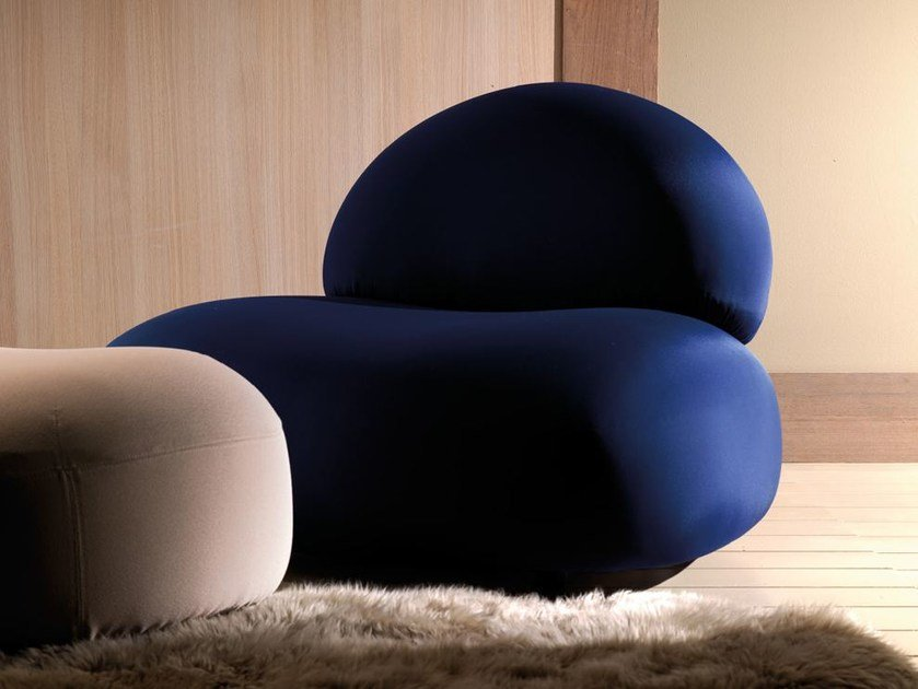 Polyurethane armchair SCOOP | Armchair by Esedra