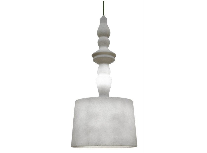 LED fiberglass pendant lamp ALIBABIG | Pendant lamp by Karman
