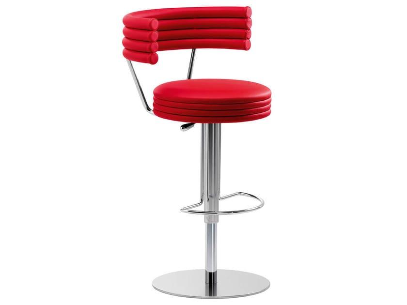 Height-adjustable high swivel stool HAPPY KREEK by Midj