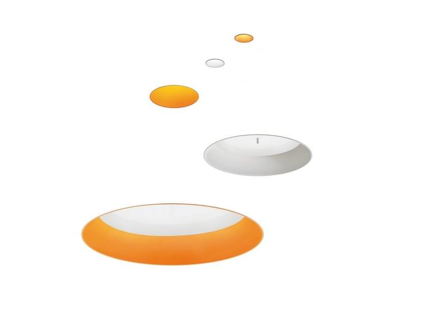 Recessed aluminium ceiling lamp TAGORA | Recessed ceiling lamp by Artemide
