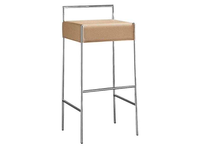High upholstered barstool MARK   Barstool by Midj