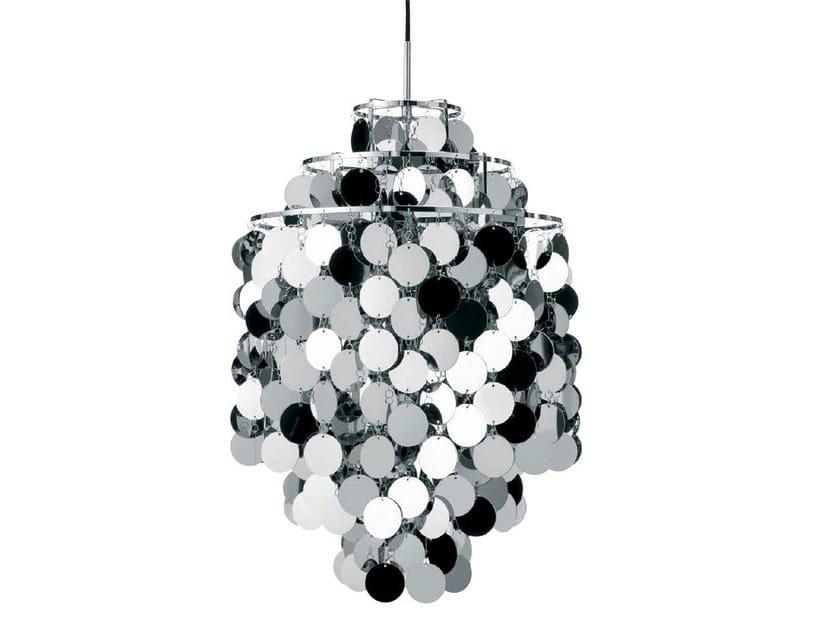 Direct-indirect light pendant lamp FUN 1DA by Verpan
