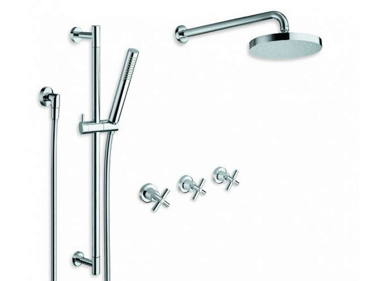 Shower tap with hand shower with overhead shower EXCLUSIVE | Shower tap with hand shower by CRISTINA
