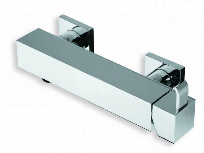 Chrome-plated single handle shower mixer QUADRI   Chrome-plated shower mixer by CRISTINA