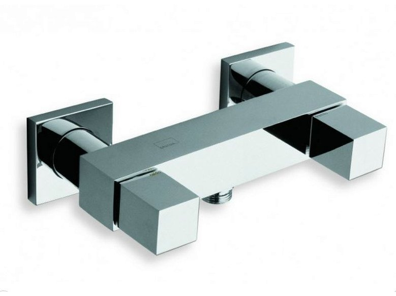 Chrome-plated shower tap QUADRI | Shower tap by CRISTINA