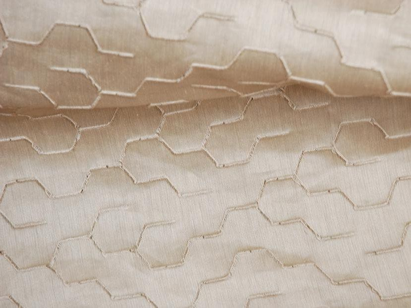 Iridescent embroidered fabric ROOT by LELIEVRE