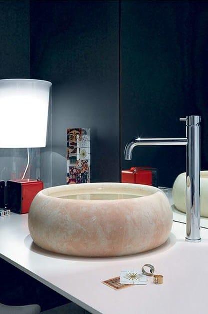 TRICOLORE VERDE | Miscelatore per lavabo