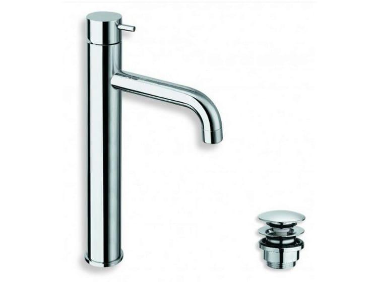 Chrome-plated countertop washbasin mixer TRICOLORE VERDE | Chrome-plated washbasin mixer by CRISTINA