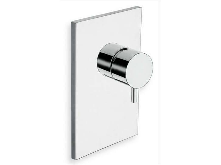 TRICOLORE VERDE | Miscelatore per doccia monocomando
