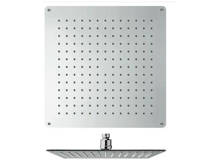 Ceiling mounted chrome-plated overhead shower with anti-lime system SANDWICH | Overhead shower by CRISTINA