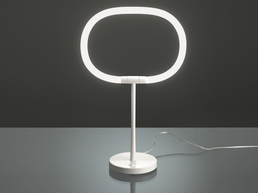 LED adjustable table lamp HALO by Artemide