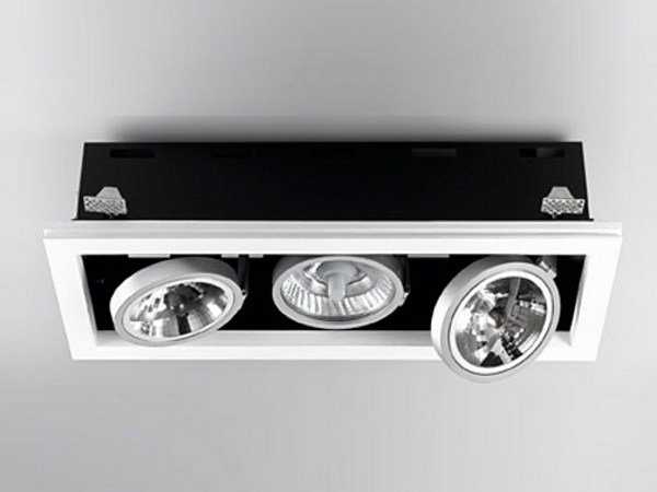 Multiple adjustable recessed spotlight XGQ1034-3 | Spotlight by PANZERI