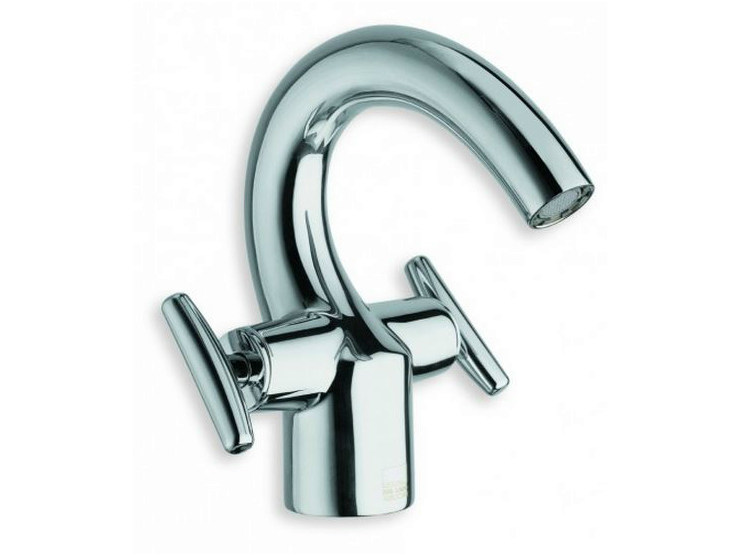 Chrome-plated countertop 1 hole washbasin tap SELTZ | 1 hole washbasin tap by CRISTINA