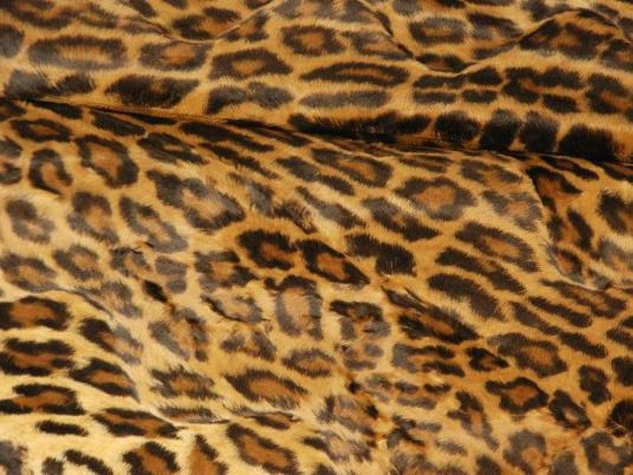 Animalier fabric for curtains OCELOT by LELIEVRE