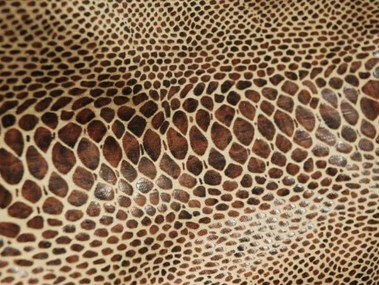 Animalier washable linen fabric BOIDAE by LELIEVRE