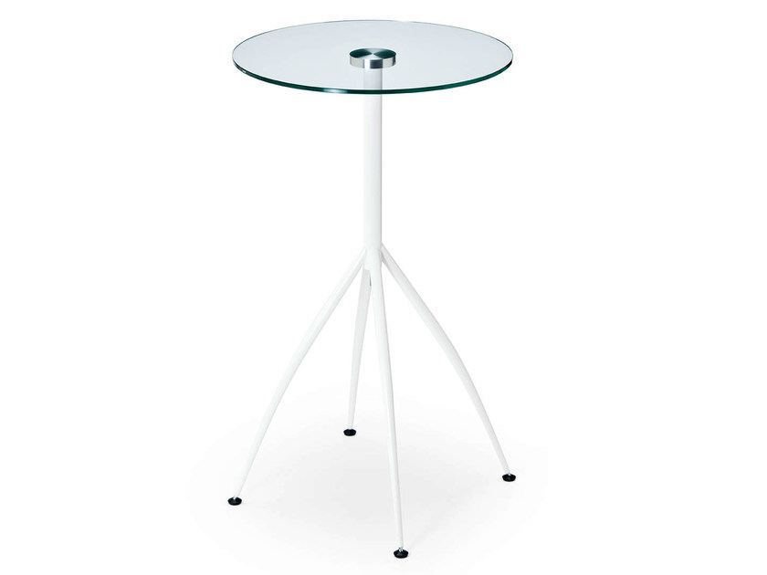Glass high table FACE | High table by Midj