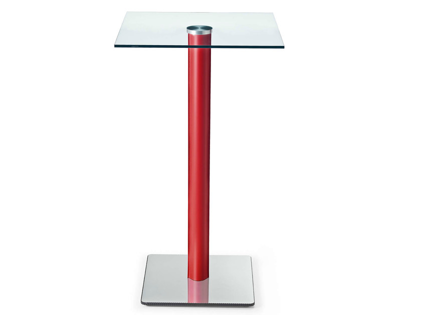 Glass high table COMPOSIT/2 | High table by Midj