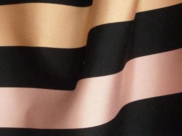 Striped multi-colored fabric RUE DU DRAGON by LELIEVRE