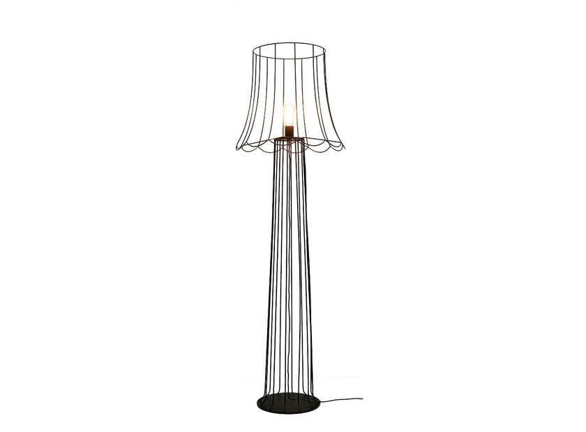Iron floor lamp LUCILLA | Floor lamp by Karman