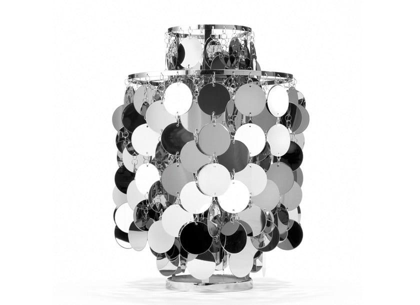Direct-indirect light metal table lamp FUN 2TA by Verpan
