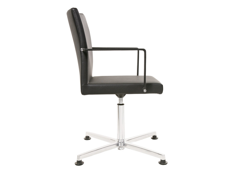 Task chair with 4-Spoke base with armrests FEEL | Task chair with armrests by KFF