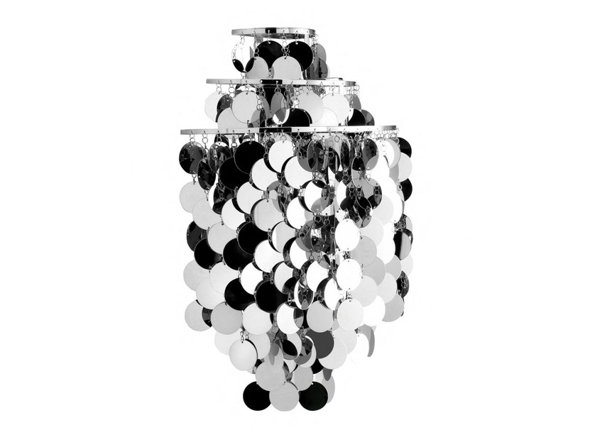 Metal wall lamp FUN 1WA by Verpan