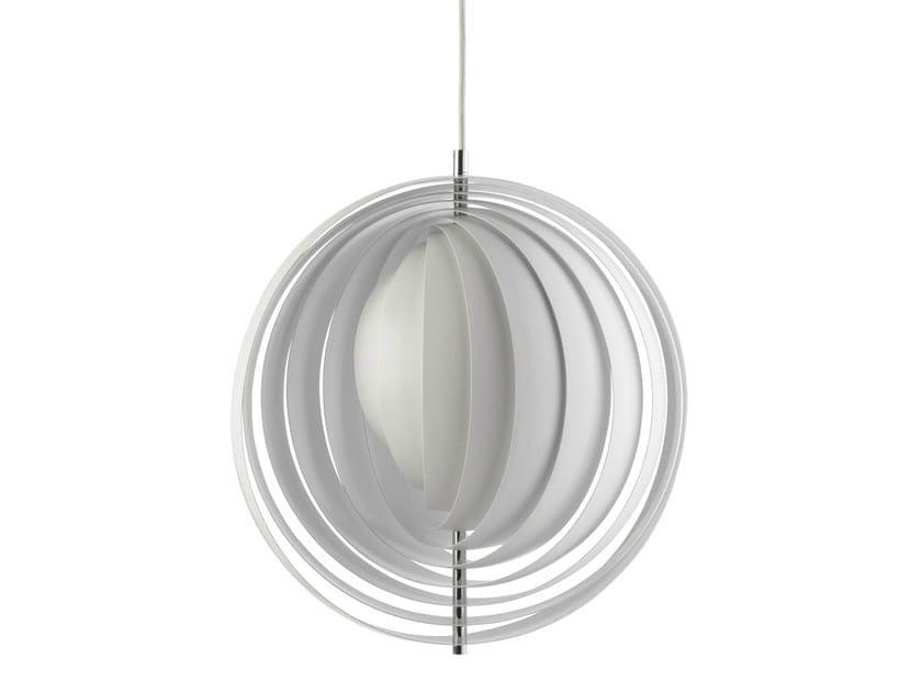 Metal pendant lamp MOON by Verpan