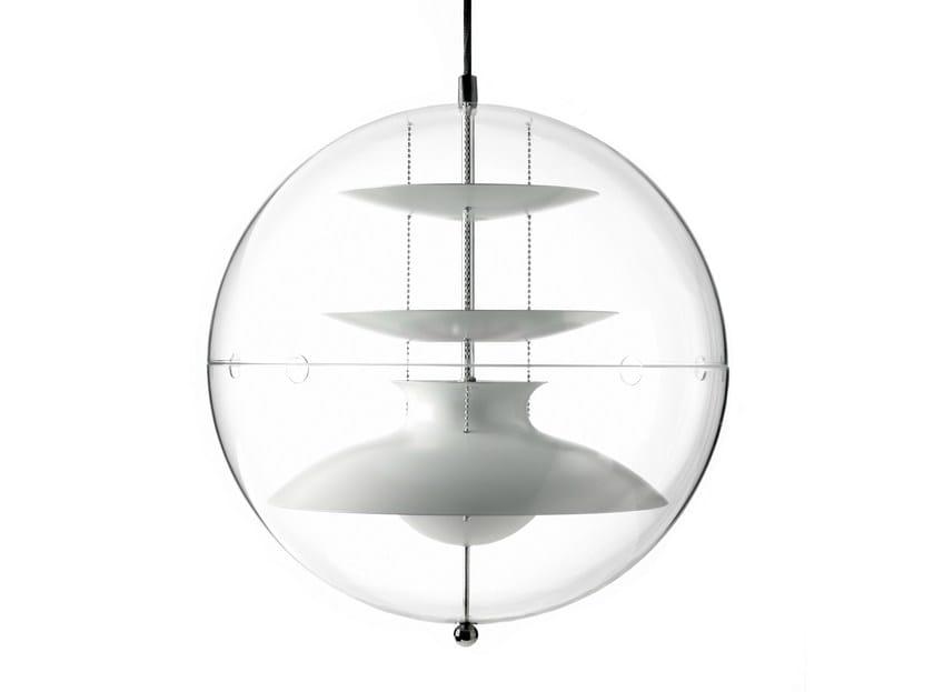 Acrylic pendant lamp PANTO by Verpan