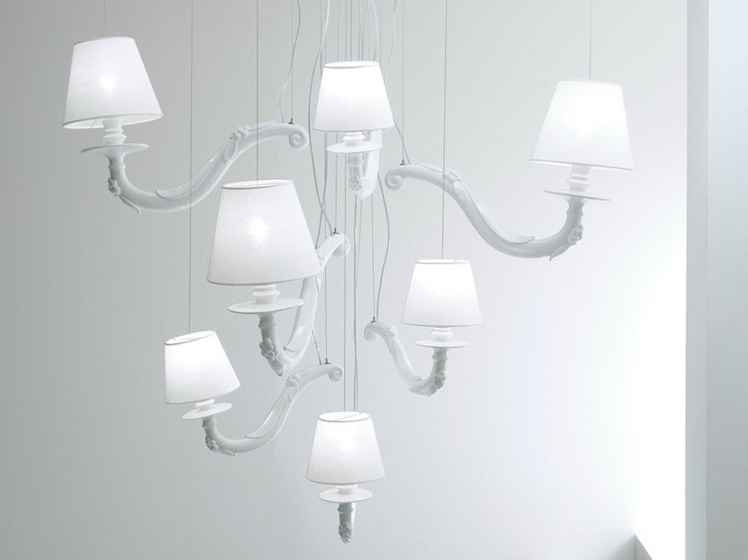 Ceramic chandelier DÉJÀ-VU | Chandelier by Karman