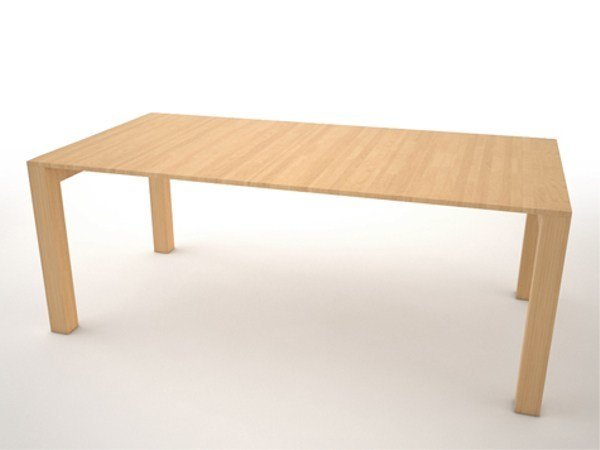 Extending wooden table Table by VIDAME CREATION