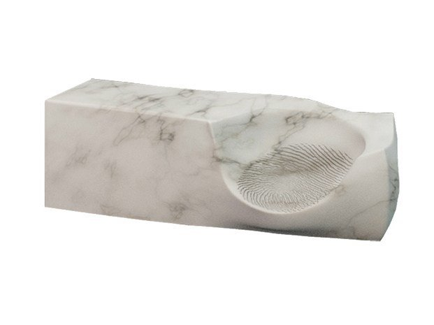 Polyethylene armchair EMPREINTE by VIDAME CREATION