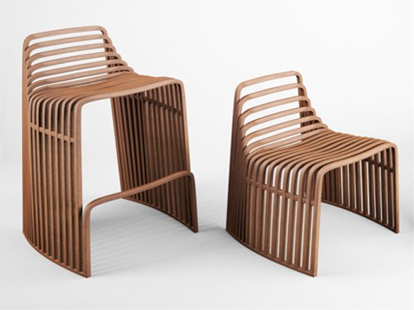 Wooden chair Chair by VIDAME CREATION