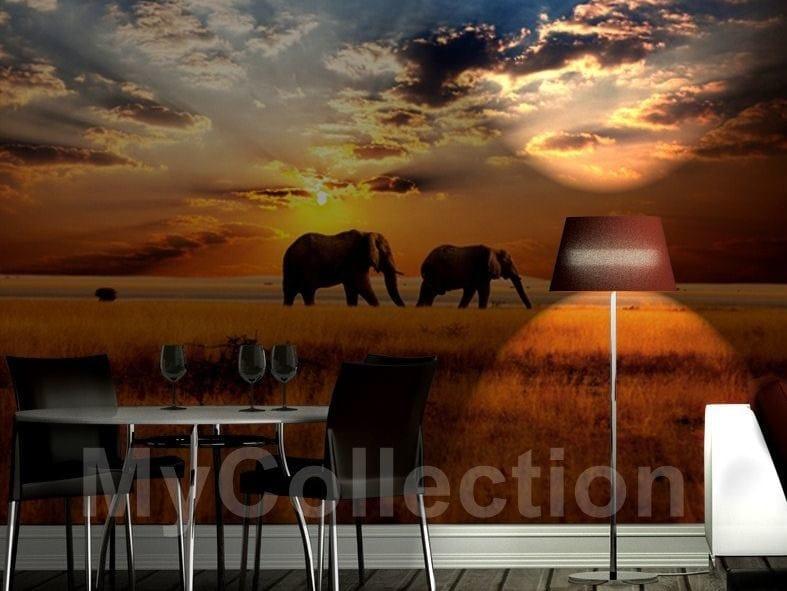 Landscape wallpaper FRIENDS by MyCollection.it