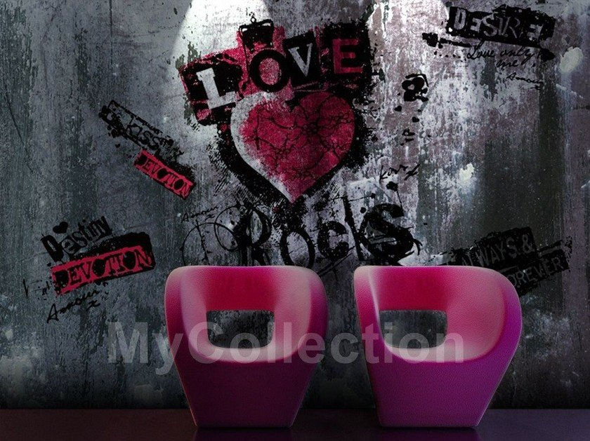 Writing LOVE ROCKS by MyCollection.it