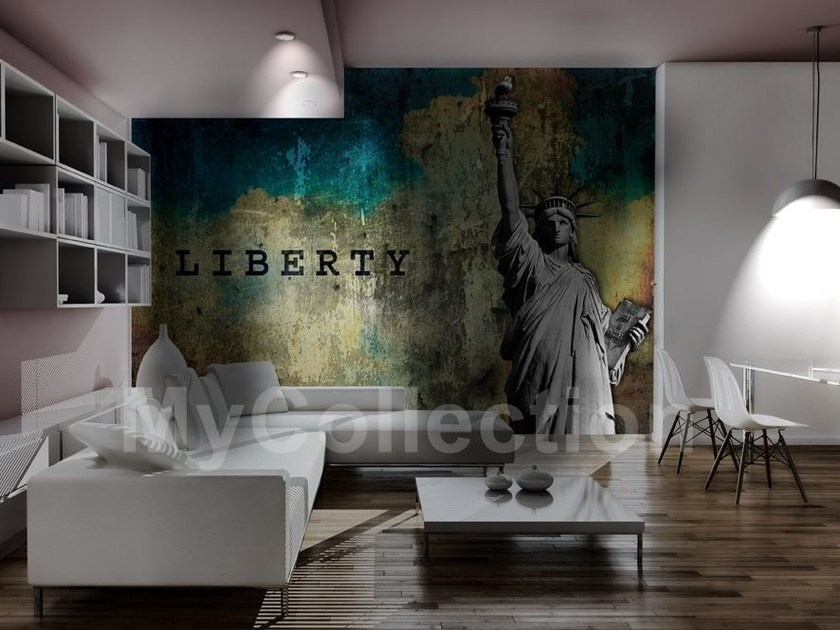Panoramic writing LIBERTY by MyCollection.it