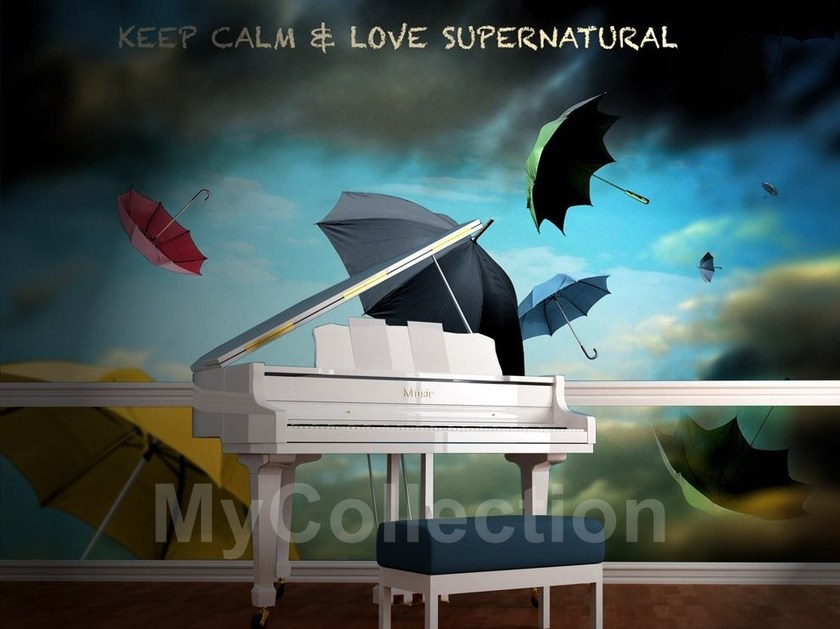 Panoramic writing SUPERNATURAL by MyCollection.it