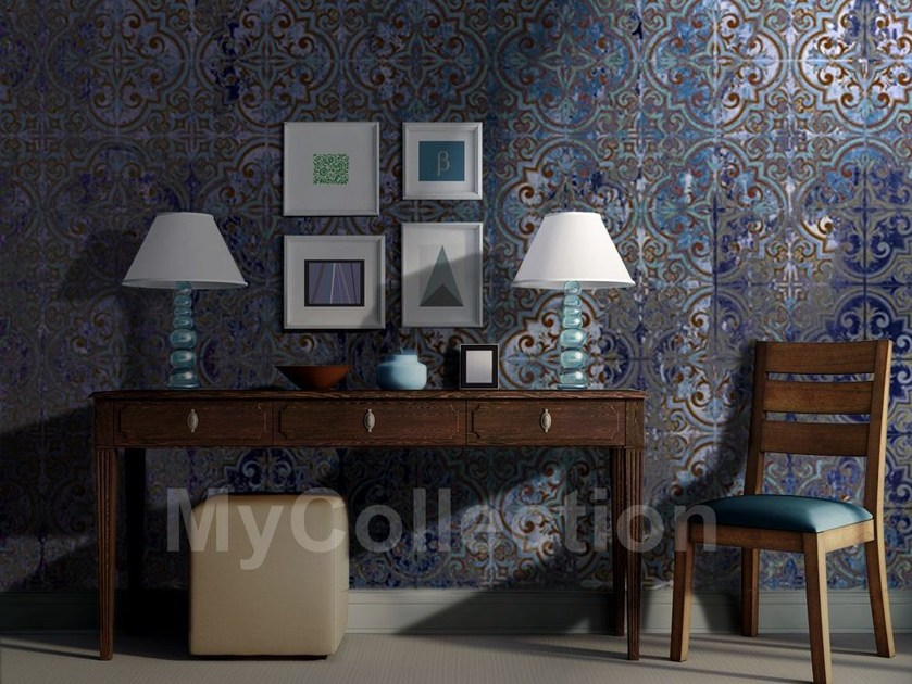 Motif stone-effect COLOR MAJOLICA by MyCollection.it