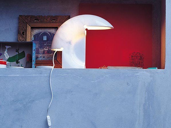 In Led Tavolo Carrara Lampada A Marmo Di Flos Da Biagio 8X0OwkPn
