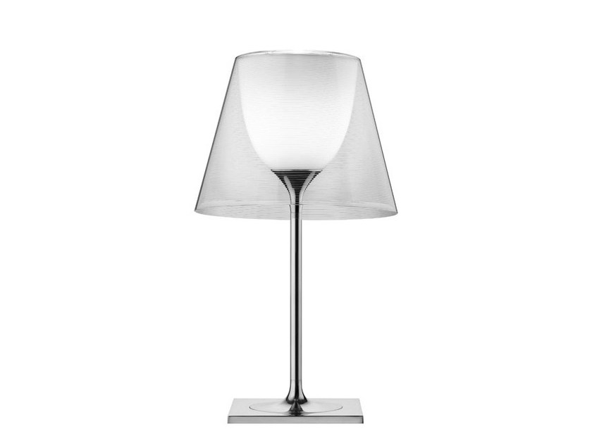 LED polycarbonate table lamp KTRIBE T by Flos