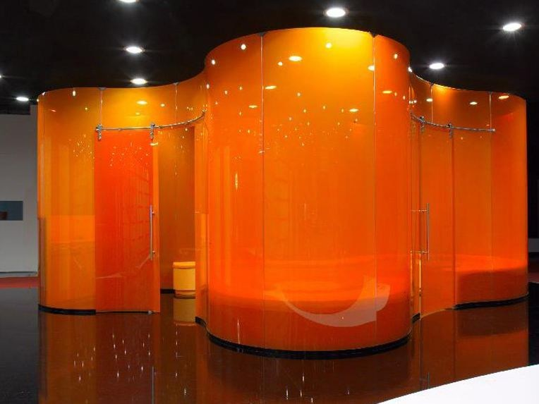 Glass movable wall COCOON by Casali