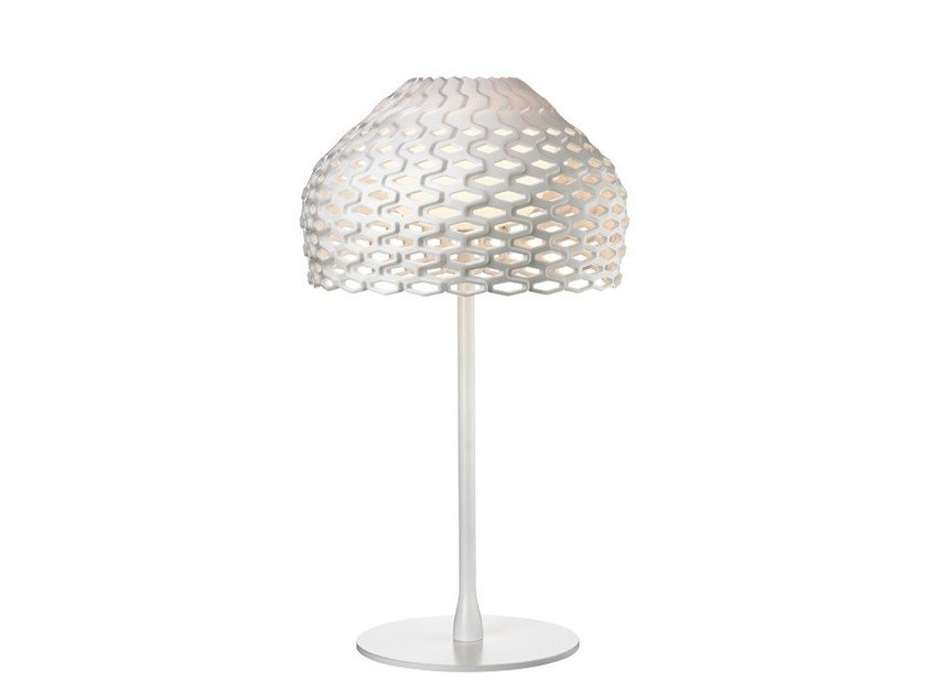 LED polycarbonate table lamp TATOU T1 by Flos