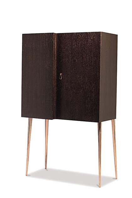 Wooden highboard CITY | Highboard by Cantori
