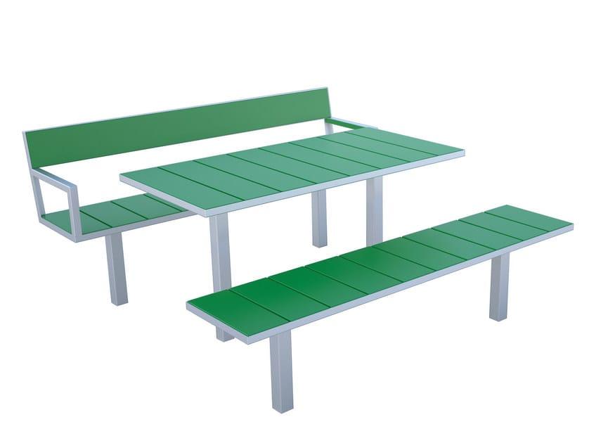 SIDEWALK | Panchina senza schienale