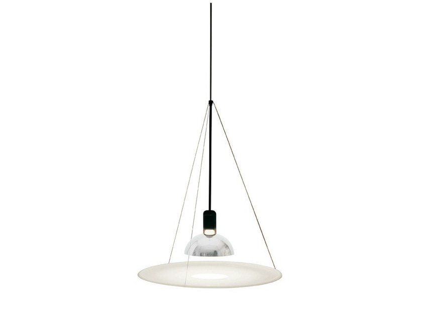Direct light pendant lamp FRISBI by FLOS