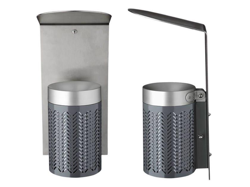 Steel ashtray ZIGZAG | Ashtray by Nola Industrier