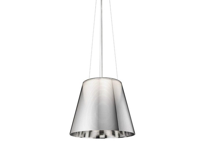 Polycarbonate pendant lamp KTRIBE S by Flos