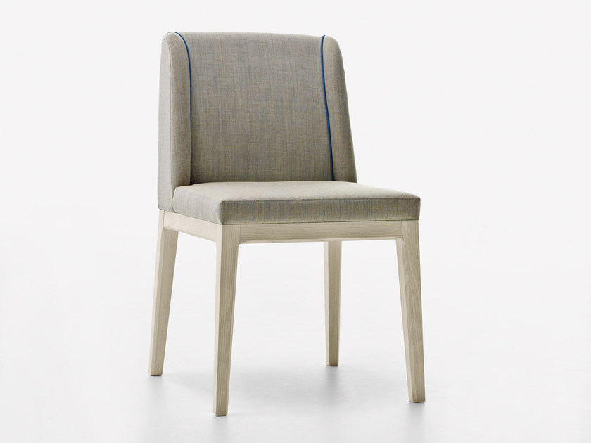 Upholstered restaurant chair SLOW   Chair by Passoni Nature
